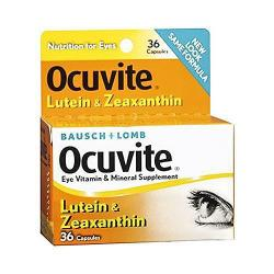 Bausch & Lomb Ocuvite Adult 50+ Eye Vitamin & Mineral Supplement (150 Softgels)