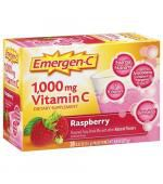 Emergen-C 1000 mg Vitamin C Raspberry Drink Mix (30 ct.)