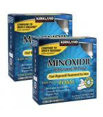 Kirkland Minoxidil 5% Foam 米诺地尔 男性专用 生发慕斯 (两盒 12瓶 x 60g - 共 12个月份量)
