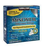 Kirkland Minoxidil 5% Foam 米諾地爾 男性專用 生髮慕斯 (一盒六瓶 x 60g - 共 6個月份量)