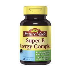 Nature Made Super B Energy Complex (60 Softgels)