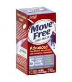 Schiff Move Free Advanced + MSM & Vitamin D (80 Tablets)