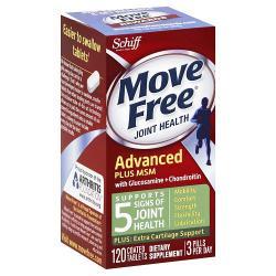 Schiff Move Free Advanced + MSM (120 Tablets)