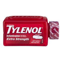 Tylenol Extra Strength 500mg 泰诺特强效止痛药 (325 颗膜衣锭)